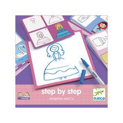 Djeco Rajzolás lépésről lépésre - Hercegnő