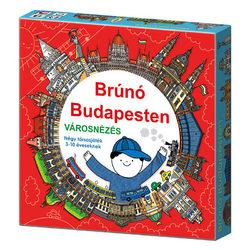 Brúnó Budapesten városnézés társasjáték
