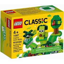 LEGO® Classic 11007 Kreatív zöld kockák