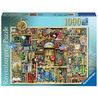 Ravensburger Varázslatos könyvespolc 1000 darabos puzzle