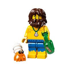 LEGO® 71029 Minifigura 21.széria Hajótörött figura
