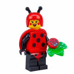 LEGO® 71029 Minifigura 21.széria katicabogárlány figura