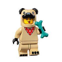 LEGO® 71029 Minifigura 21.széria Mopszlijelmezes fiú