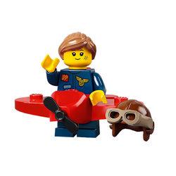 LEGO® 71029 Minifigura 21.széria Repülőgépes lány figura