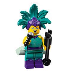 LEGO® 71029 Minifigura 21.széria Kabaréénekes figura