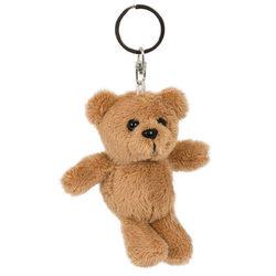 Plüss medve kulcstartó 8 cm-es