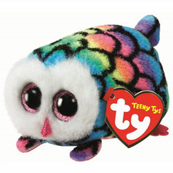 Teeny Ty plüss Hootie színes bagoly 10 cm