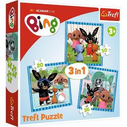 Trefl Bing 3 az 1-ben puzzle