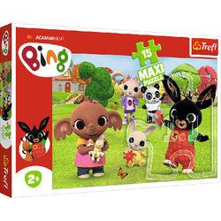 Trefl Bing barátokkal 15 db-os maxi puzzle