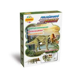 Felhúzható 3D puzzle - Triceratops