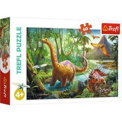 Trefl Dínók vándorlása 60 db-os puzzle