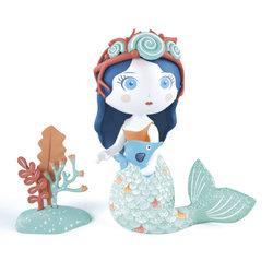 Djeco Aby sellő és Blue Arty Toys figura