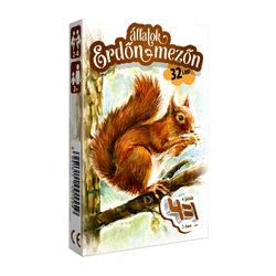Állatok erdőn, mezőn 4 az 1-ben kártyajáték