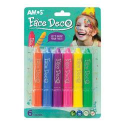 Arcfestő filc készlet 6db - Amos
