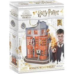 Harry Potter 3D puzzle 62 db-os Weasley Varázsvállalat
