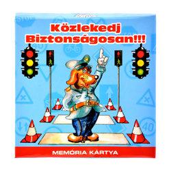 Közlekedj biztonságosan memória kártya