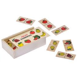 Fa dominó gyümölcsökkel