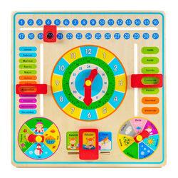 Fa naptár tanuló játék - napok-hónapok-évszakok