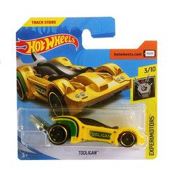 Hot Wheels Tooligan kisautó - sárga
