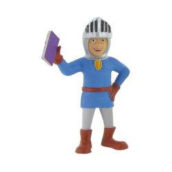 Comansi Sant Jordi könyvvel játékfigura