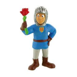 Comansi Sant Jordi rózsával játékfigura