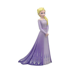 Bullyland 13510 Disney - Jégvarázs 2 Elsa lila ruhában