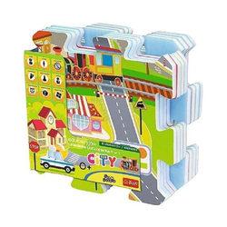 Trefl Habszivacs szőnyeg puzzle - Városi móka