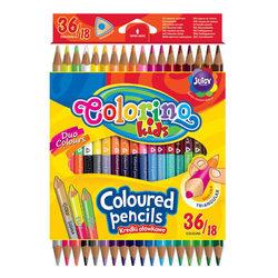 Colorino Kids Kétvégű színes ceruza 18 db-os