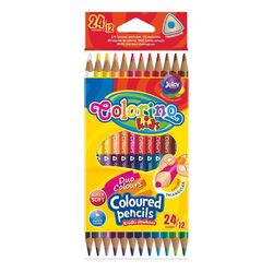Colorino Kids Kétvégű színes ceruza készlet 12 db-os