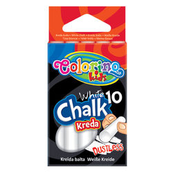 Colorino Kids Fehér táblakréta 10 db-os