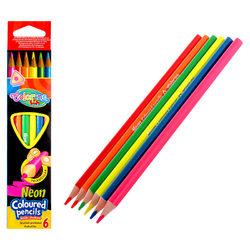 Colorino Kids Neon színű ceruza készlet 6 db-os