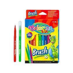 Colorino Kids 10 db-os ecsetvégu filctollkészlet