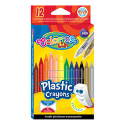 Colorino Kids 12 db-os radírozható zsírkréta készlet