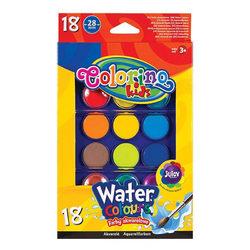 Colorino Kids Vízfesték 18 gombos