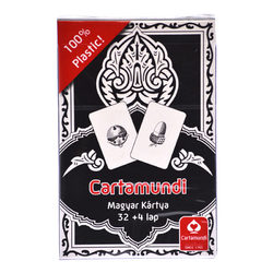 Cartamundi 100% plasztik magyar kártya