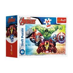 Trefl Bosszúállók -Támadás 54 db-os mini puzzle