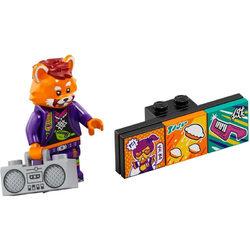 LEGO® VIDIYO™ 43101 Minifigura Vörös Panda táncos