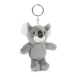 Plüss koala kulcstartó 8 cm-es