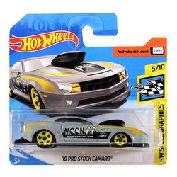 Hot Wheels Speed Graphics '10 Pro Stock Camaro kisautó