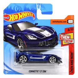 Hot Wheels Then and Now Corvette C7 Z06 kisautó