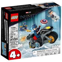 LEGO® Super Heroes 76186 Amerika Kapitány és Hydra szemtől szembe