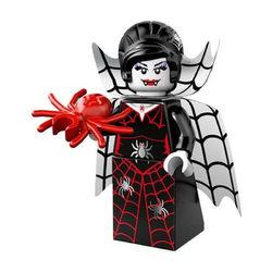 LEGO® 71010 Minifigura 14. sorozat Pókrajongó vámpírlány figura