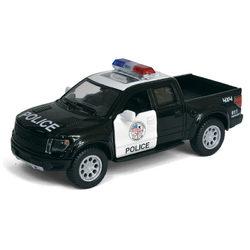 Kinsmart 2013 Ford F150 SVT Raptor SuperCrew rendőrautó