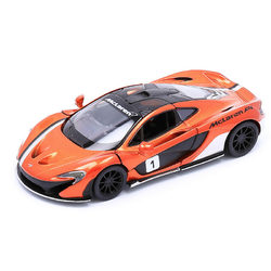 Kinsmart McLaren P1 kisautó - bronzbarna