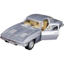 Kinsmart 1963 Corvette Sting Ray kisautó - ezüst