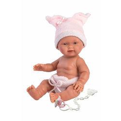 Llorens: Három kismalac - Újszülött lány baba 26cm-es