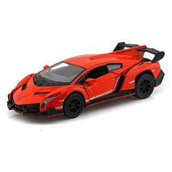 Kinsmart Lamborghini Veneno kisautó - narancsszínű