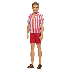 Barbie - Ken 60. évfordulós baba csíkos ingben