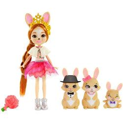 Enchantimals babák állatka családdal - Brystal Bunny