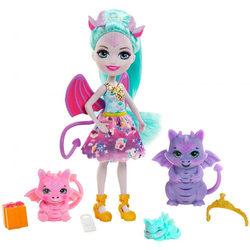 Enchantimals babák állatka családdal - Deanna Dragon